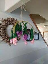Baby mobile Girl hanging lavenders