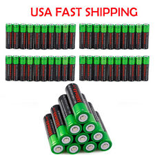 50X Batteries Li-ion 18650 3.7V Rechargeable Battery For Led Torch Flashlight~