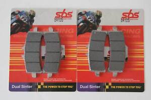 SBS 841 DS Dual Sinter Pads KTM RC8 1190 R Front Brake Pads Front
