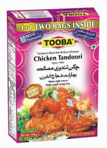 """""""NEW"""" TOOBA CHICKEN TANDOORI SPICE MIX Spicy&HOT