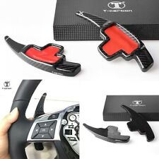 Steering Wheel Paddle Shifter Extensions for Mercedes B C E ML Real Carbon Fiber