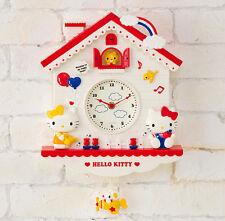 Hello Kitty Decorative Pendulum Wall Clock KK884