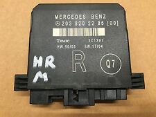 Unidad de control Módulo de puerta R trasero derecha Mercedes Benz W203 S203/203