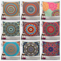 Retro Boho Wall Hanging Tapestry Mandala Bedspread Hippie Indian Decor Blanket