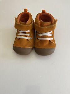 baby shoes boy stride rite size 5w orange
