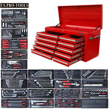 295 US PRO TOOLS Red Tool Chest Box cabinet toolbox finance available with tools