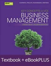 Key Concepts in VCE Business Management Units 3&4 4E eBookPLUS & Print + StudyOn