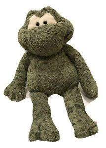Gund Frog Green Plush RARE Stuffed Animal Terry Model 5057 25 Inches Long  Gift