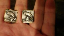 Trout Fishing Cufflinks and Tie Tack