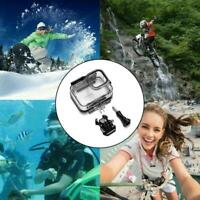 1PCS Waterproof Case Protector Cover For Gopro-Hero 9 Black Tempered Case HOT