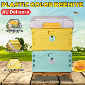 Insulation Plastic Beehive Super Solid Langstroth Beekeeper Supplier Bee 2-Layer