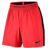 Nike Men's Flex Strike Shorts Football Soccer Red Size M 804298-657