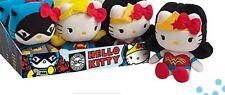 DC Comics Hero Mascot Size Hello Kitty Plush/Soft Toy FULL SET + Extra one FREE