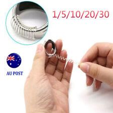 5/10/20/30xRing Size Adjuster Reducer Resizing Guard Tightener Ring Spring Rope