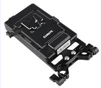 CAMVATE V- LOCK Battery Mount Plate for DSLR Camera Power Supply Splitter Clamp