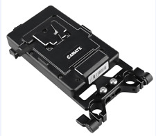 V- LOCK Battery Mount Plate for DSLR Camera Power Supply Battery Splitter Rig