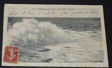 CPA 1915 FRANCE CABOURG CALVADOS 14 LA VAGUE - ETUDE