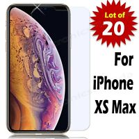 20X Premium Tempered Glass Film Screen Protector for iPhone XS Max
