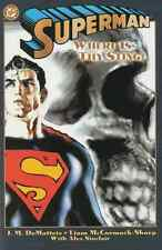 SUPERMAN: WHERE IS THY STING? NEAR MINT 2001 TPB DC COMICS