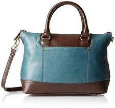NWT Tignanello Smooth Operator Conv. Satchel, Juniper/Dark Brown, MSRP: $175.00