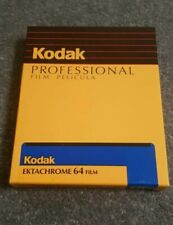 Kodak Ektachrome 64 EPR 6117 Slide Film 4 x 5 Inch Expired. 10 x Sheets
