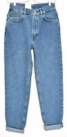NEW Vintage Calvin Klein High Waisted Blue TAPERED MOM Jeans Size 12 W30 L30