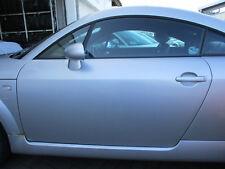 Tür links Audi TT 8N Coupe LICHTSILBER LY7W silber