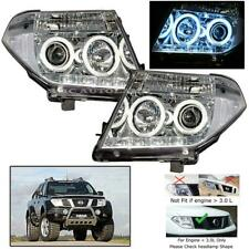For 2005-2008 Nissan D40 Navara Head Lamp Light Led + Ccfl Light Pickup