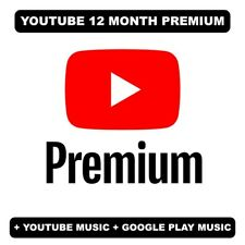 Youtube Premium 12 Months | Read description | INSTANT DELIVERY