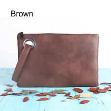 Fashion Solid Women Clutch Bag Leather Envelope Evening Female Clutches Handbag
