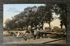 Bayern AK Ingolstadt 1916 OBB Pioniere Brückensprengung Sprengung Gebäude 1.WK(2
