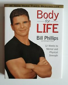 Body For Life by Bill Phillips, Michael D'Orso Hardcover 1999