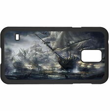 Ship Battle Hard Case Cover For Samsung New