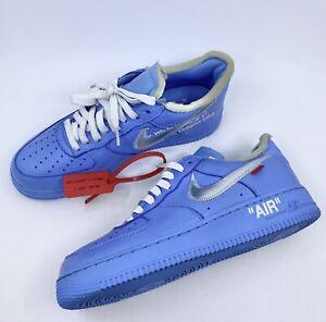 Nike Air Force 1 Off-White MCA '07 Virgil University Blue Size 10.5 Ci1173-400