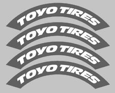 4x CUSTOM tyre stencil stickers, Tyre bombing, Rauh Welt, RWB, drift 012