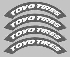 4x Neumáticos plantilla pegatinas personalizadas, bombardeos de neumáticos, Rauh Welt, RWB, Drift 012