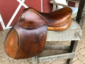 Pessoa jump saddle - made in England