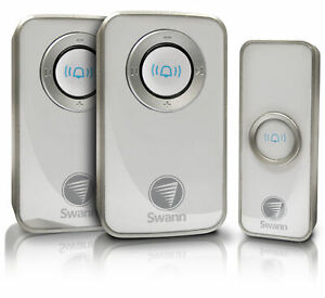 Swann Wireless Door Chime with Receiver - Twin Pack