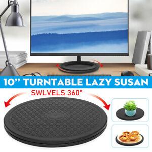 10'' Lazy Susan Turntable 360 Rotating Multipurpose Swivel Bearing Stand 66 Lbs