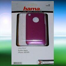 Hama Handyschale, Etui Apple iPhone 3G/ 3GS, Glossy Pink, NEU !!!