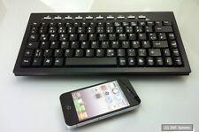 NEU: Faytech RK-360 Wireless Mini (30x15cm) Keyboard Funk Tastatur, DE (QWERTZ)