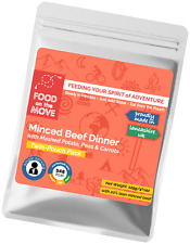 Food Supplies: Lightweight Dehydrated Pouched Meal - Minced Beef Dinner