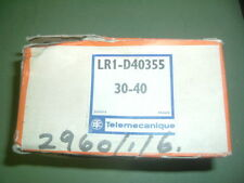 TELEMECANIQUE.... LR1 D40355 .............OVERLOAD RELAY 30-40 AMPS NEW PACKAGED