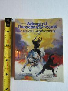 Advanced Dungeons & Dragons Oriental Adventures mini book TSR AD&D
