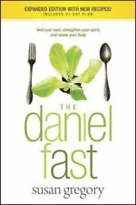 The Daniel Fast Paperback Book Susan Gregory New