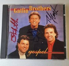 Gospel by Gatlin Brothers CD SIGNED By All Members