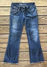 Tommy Hilfiger Sonora Bootcut Knoxville Dirt Stretch Distressed Jeans 30/32