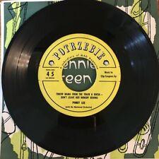 45 rpm Mad Magazine Pinky Lee Sticker on Bennie Green Plays Jazz Jubilee Record