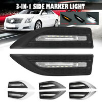 Universal 12V Blade Steering Light Fender Side Marker Light Car LED Turn