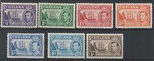 ST HELENA 1938 KGVI SHIP RANGE TO 1/-